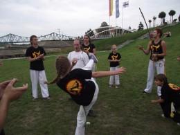 pokaz capoeira bulwar sportu