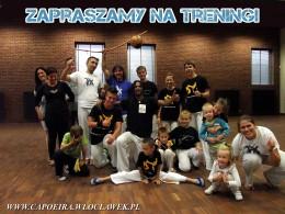 Zapraszamy na treningi capoeira