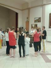 roda capoeira w Lubieniu Kujawskim